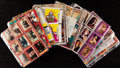 Non-Sport Cards:Sets, 1970's - 1980's Non-Sports Complete Sets (10) - Movies. ...