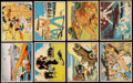 """Non-Sport Cards:Sets, 1941 V275 O-Pee-Chee """"Empire Defenders"""" Complete Set (48). ..."""
