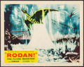 "Movie Posters:Science Fiction, Rodan! The Flying Monster! (Toho/ DCA, 1957). Lobby Card (11"" X14""). Science Fiction.. ..."