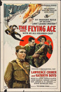 """Movie Posters:Black Films, The Flying Ace (Norman, 1926). Folded, Fine+. One Sheet (27"""" X41""""). Black Films.. ..."""