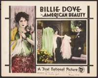 """The American Beauty (First National, 1927). Autographed Lobby Card (11"""" X 14""""). Romance"""