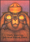"Movie Posters:Miscellaneous, Smokey the Bear Lot (USDA - Forest Service, 1983 & 1987). Posters (9) (13"" X 18.5"", 20""). Miscellaneous.. ... (Total: 9 Items)"