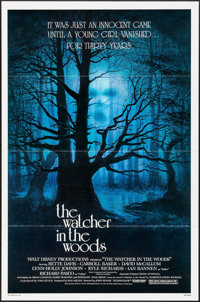 """The Watcher in the Woods (Buena Vista, 1980). One Sheets (4) Identical (27"""" X 41"""") David Negron Artwork. Thril..."""