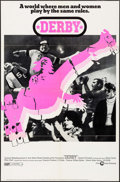 "Movie Posters:Sports, Derby (Cinerama Releasing, 1971). One Sheet (27"" X 41""). Sports.. ..."