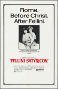 """Movie Posters:Foreign, Fellini Satyricon (United Artists, 1969). One Sheet (27"""" X 41""""), Lobby Cards (5) (11"""" X 14""""), Mini Lobby Cards (8) (8"""" X 10""""... (Total: 15 Items)"""
