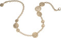 """Luxury Accessories:Accessories, Chanel Runway Limited Edition Gold Quilted Medallion CC Necklace & Belt. Condition: 1. 36"""" Length. ..."""