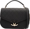 """Luxury Accessories:Bags, Chanel Cuba Collection Black Caviar Leather CC Flap Bag with GoldHardware. Condition: 1. 10"""" Width x 7"""" Height x 2.5"""" Dep..."""