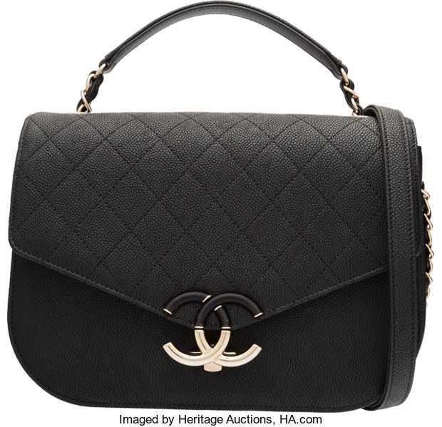 89a5f7f1df1e68 ... Luxury Accessories:Bags, Chanel Cuba Collection Black Caviar Leather CC Flap  Bag with GoldHardware ...