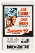"Movie Posters:Science Fiction, Fahrenheit 451 (Universal, 1967). One Sheet (27"" X 41"") & CutPressbooks (2) (Multiple Pages, 9"" X 14""). Science Fiction.. ...(Total: 3 Items)"
