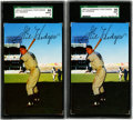 Baseball Cards:Lots, 1953-55 Dormand Post Card Gil Hodges Group Lot of 22. Offered is anice group of twenty-two 1953-55 Dormand Postcard Gil Hod...