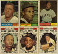 Baseball Cards:Sets, 1961 Topps Baseball Near Complete Set (583/587). Offered is a 1961 Topps near set of 583-cards. Missing #'s 44 Mantle/Maris ...