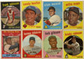 Baseball Cards:Sets, 1959 Topps Baseball Near Complete Set (569/572). Offered is a mid grade 1959 Topps Near set of 569/572 cards (missing #'s 10...