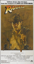 "Movie Posters:Adventure, Raiders of the Lost Ark (Paramount, 1981). Three Sheet (41"" X 76"").Adventure...."