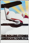 "Movie Posters:Rock and Roll, The Rolling Stones American Tour 1972 (Sunday Promotions, 1972).One Sheet (25"" X 38""). Rock and Roll...."