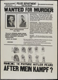 "Movie Posters:War, After Mein Kampf? (Crystal Pictures, 1940). One Sheet (28.25"" X38.25""). War...."