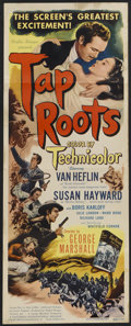 "Movie Posters:Drama, Tap Roots (Universal, 1948). Insert (14"" X 36""). Drama...."