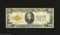 Small Size:Gold Certificates, Fr. 2402 $20 1928 Gold Certificate. Fine. This $20 Gold has retained some snap in its paper. February 8, 1933 was the last ...