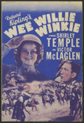 "Movie Posters:Adventure, Wee Willie Winkie (20th Century Fox, 1937). Herald (6"" X 9"").Adventure...."