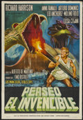 "Movie Posters:Adventure, Perseus the Invincible (Embassy, 1963). Argentinean Poster (29"" X42""). Adventure...."