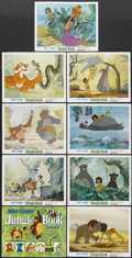 "Movie Posters:Animated, The Jungle Book (Buena Vista, 1967). Lobby Card Set of 9 (11"" X14""). Animated.... (Total: 9 Items)"