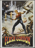 "Movie Posters:Science Fiction, Flash Gordon (Universal, 1980). Argentinean Poster (41.5"" X 57"").Science Fiction...."