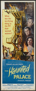 """Movie Posters:Horror, The Haunted Palace (American International, 1963). Insert (14"""" X 36""""). Horror...."""