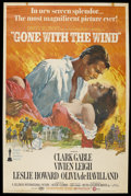 "Movie Posters:Academy Award Winner, Gone with the Wind (MGM, R-1972). Poster (40"" X 60""). Academy AwardWinner...."