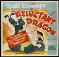 "Movie Posters:Animated, The Reluctant Dragon (RKO, 1941). Six Sheet (81"" X 81"").Animated...."