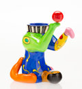 Post-War & Contemporary:Contemporary, Niki de Saint-Phalle (1930-2002). Juggler Vase, 2000.Painted polyester. 13-1/4 x 10-3/4 x 8-1/2 inches (33.7 x 27.3 x2...