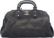 "Chanel Black Quilted Leather Bowler Bag Condition: 4 15"" Width x 9"" Height x 6.5"" Depth This bag is done..."