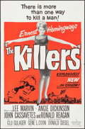 "Movie Posters:Crime, The Killers (Universal, 1964). One Sheet (27"" X 41"") & LobbyCards (5) (11"" X 14""). Crime.. ... (Total: 6 Items)"