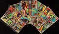 Non-Sport Cards:Sets, 1957 Topps Isolation Booth Complete Set (88) With Decoder Sheet. ...