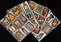 Non-Sport Cards:Sets, 1979 - 1985 Topps Wacky Packages Complete Sets (5). ...