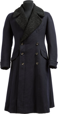 An English Fur-Lined Coat Owned by King Edward VIII, Duke of Windsor, and Worn to the Funeral of King George V, circa