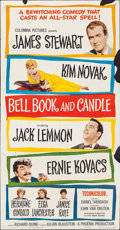 """Movie Posters:Romance, Bell, Book and Candle (Columbia, 1958). Three Sheet (41"""" X 78""""). Romance.. ..."""