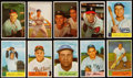Baseball Cards:Lots, 1953 to 1955 Bowman Baseball Collection (51) Packed with Stars& HoFers! ...
