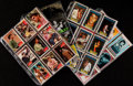 "Non-Sport Cards:Sets, 1950's - 1970's Topps ""Elvis"" and ""Fabian"" Sets (4). ..."