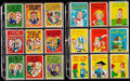 Non-Sport Cards:Sets, 1959 & 1960 Topps Funny Valentines Complete Sets Pair (2). ...