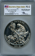 Modern Bullion Coins, 2012 25C El Yunque Five-Ounce Silver, Mercanti Signature MS69 Deep Mirror Prooflike PCGS. PCGS Population: (70/0). NGC Cens...