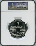 Modern Bullion Coins, 2011 25C Gettysburg Five-Ounce Silver, Early Releases, MS69 Deep Mirror Prooflike NGC. PCGS Population: ...