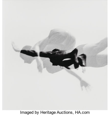 Aaron Siskind (1903-1991) Pleasures and Terrors of Levitation, 1958 Gelatin silver, printed later 10-1/4 x 12-1/2 inc...