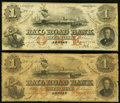 Obsoletes By State:Michigan, Adrian, MI- Erie and Kalamazoo Rail Road $1(2) 1853-54. ... (Total: 2 notes)