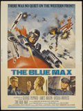 "Movie Posters:War, The Blue Max (20th Century Fox, 1966). Poster (30"" X 40""). War...."