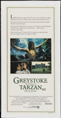 "Movie Posters:Adventure, Greystoke: The Legend of Tarzan, Lord of the Apes (Warner Brothers,1983). Australian Daybill (13"" X 27""). Adventure...."