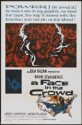 "Movie Posters:Drama, A Face in the Crowd (Warner Brothers, 1957). One Sheet (27"" X 41""). Drama...."