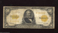 Large Size:Gold Certificates, Fr. 1200 $50 1922 Gold Certificate Very Good-Fine....