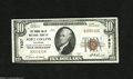 National Bank Notes:Colorado, Fort Collins, CO - $10 1929 Ty. 1 The Poudre Valley NB Ch. # 7837Verner U. Wolf and B.F. Hottel were the officers of t...