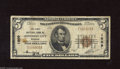 National Bank Notes:Missouri, Jefferson City, MO - $5 1929 Ty. 1 The First NB Ch. # ...