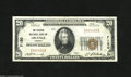 National Bank Notes:Virginia, Orange, VA - $20 1929 Ty. 1 The Citizens NB Ch. # 7150 Thisembossed note shows a center and corner fold. This $20 is n...