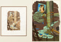 Animation Art:Production Drawing, The Old Mill Illustration Original Art (Walt Disney,1937)....